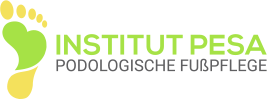 institut podologische fusspflege pesa logo